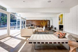 Mies Van Der Rohe's Iconic Barcelona Furniture Steals the Show