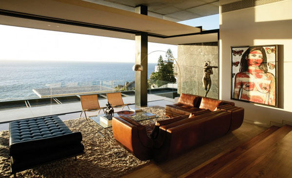 Mies van der rohe 39 s iconic barcelona furniture steals the show for Beach home designs victoria