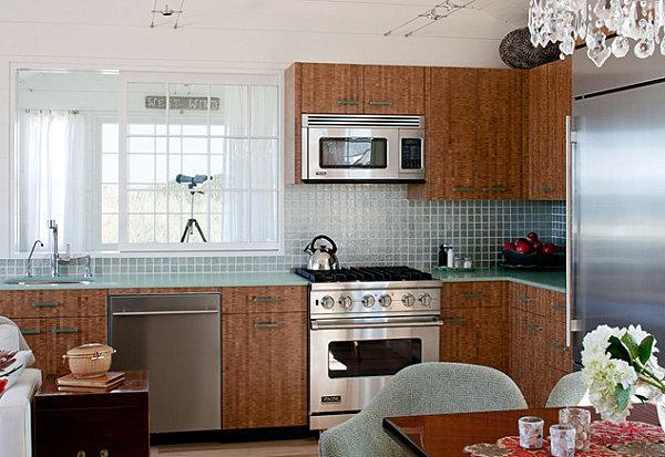 Bio-glass kitchen counters