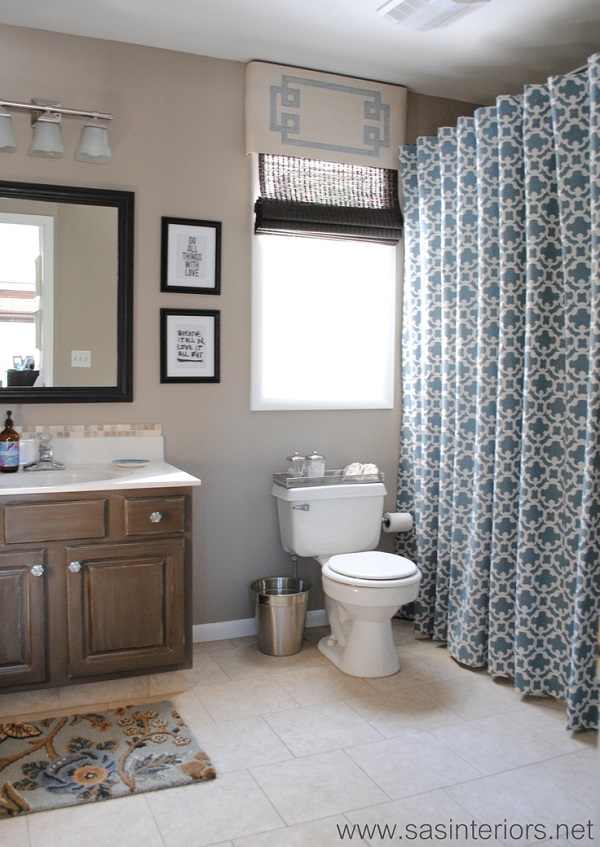 Shower Curtain Diys To Revamp Your Bathroom