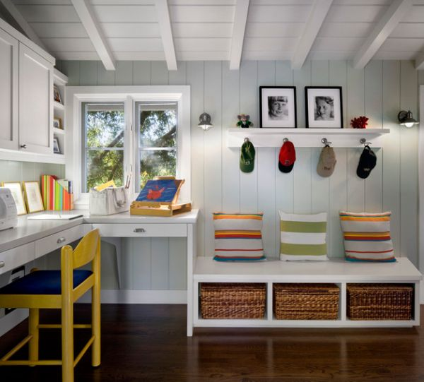 Bedroom Ideas Hgtv Bedroom Desk Design Romantic Bedroom Curtains Bedroom Bay Window Decor: 29 Kids' Desk Design Ideas For A Contemporary And Colorful