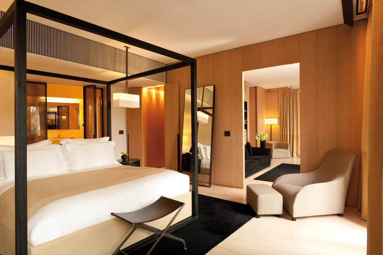 Bulgari Milano - luxury suites