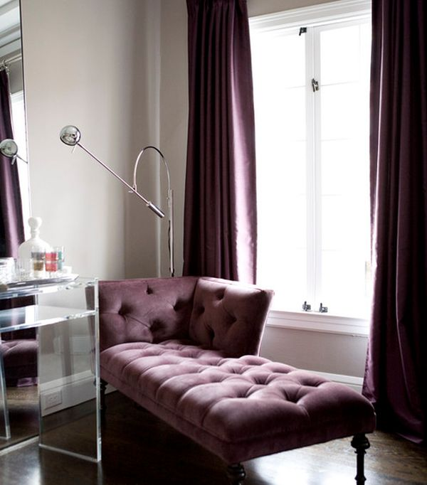 Chaise lounge and Hollywood Regency Style - Magical match made in tinsel town!
