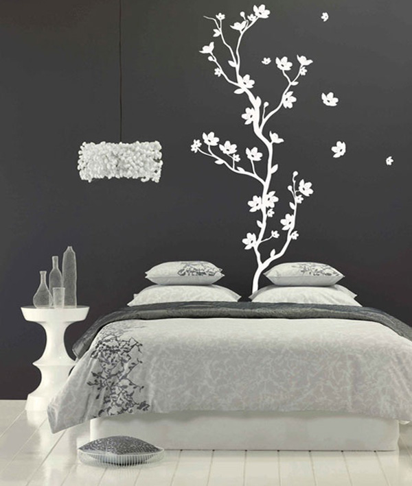 Cherry blossom tree decal wall art