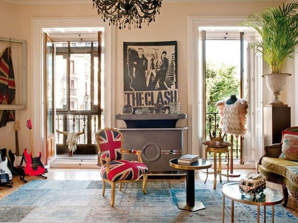 Classic design theme with the Union Jack chair at its heart