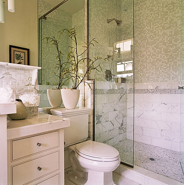 How to decorate a small bathroom for Small luxury bathrooms ideas