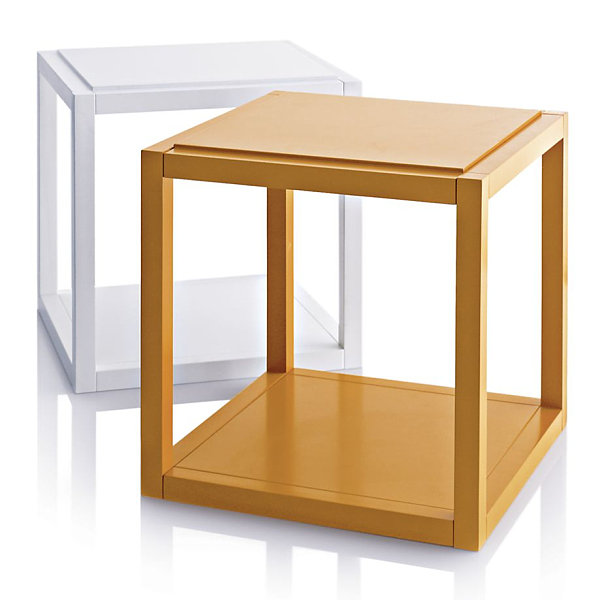 Cube-style side table