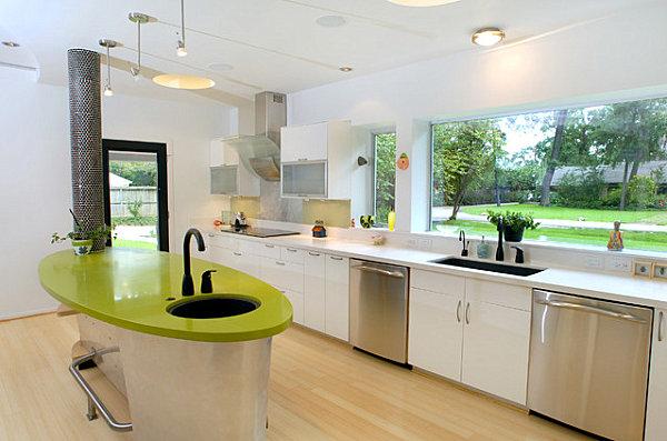 Custom-designed formaldehyde-free cabinets