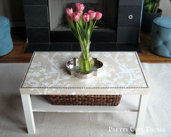 DIY Glam Ikea Coffee Table