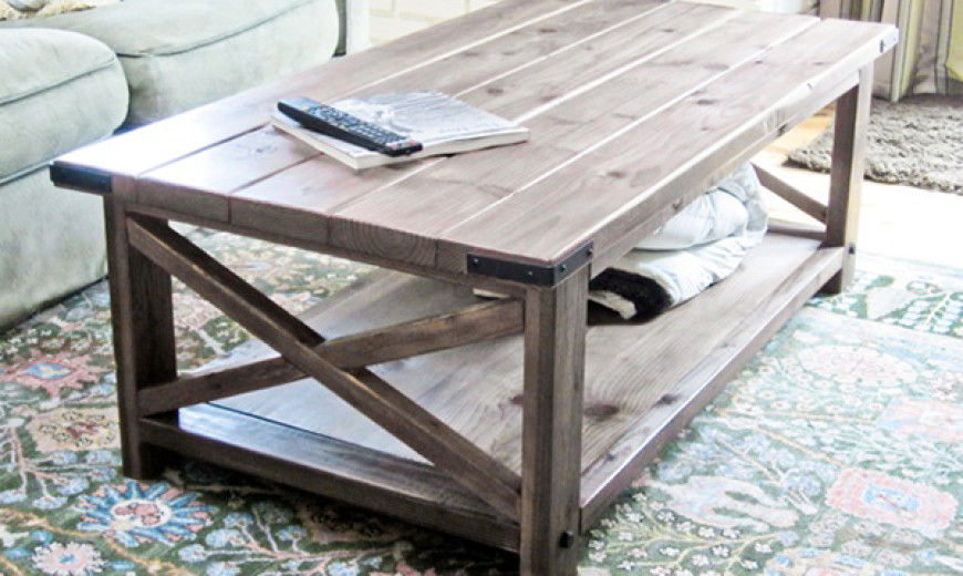 12 Gorgeous DIY Coffee Tables
