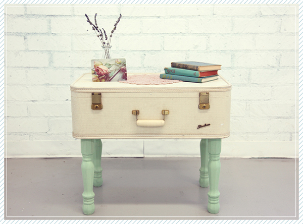 Amazing View In Gallery DIY Suitcase Coffee Table Part 28