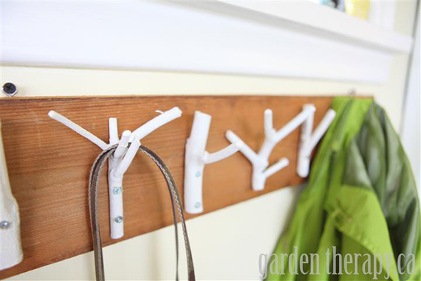 How To Make A Coat Rack Out Of A Tree