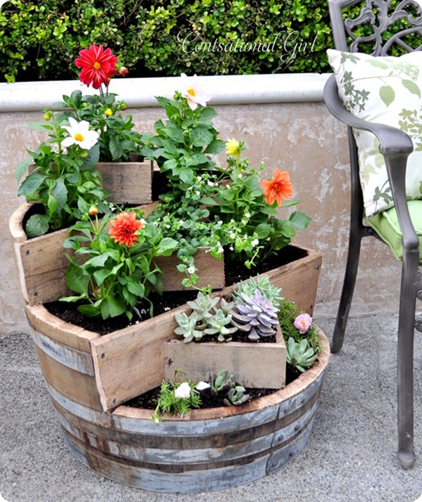 Stylish DIY Planters for Spring | title