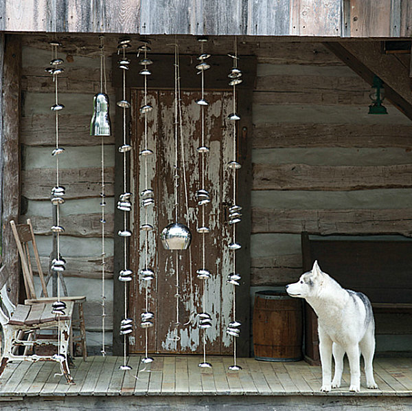 Eco-friendly hanging bells