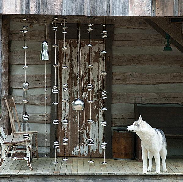 Eco-friendly hanging bells