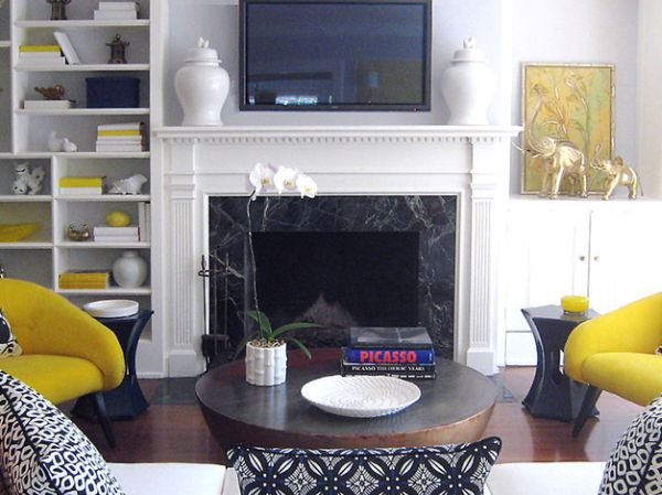 Elegant way to blend in contemporary style with Hollywood regency