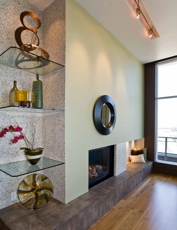 15 corner wall shelf ideas to maximize your interiors for Home interior shelf designs