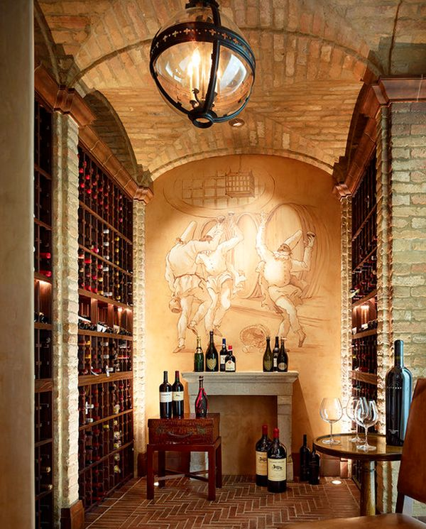 View in gallery Fabulous wine cellar is an inspiration in every sense of  the word!