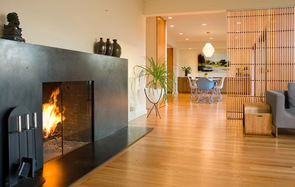 Modern Fireplace Surrounds 34 modern fireplace designs with glass for the contemporary home