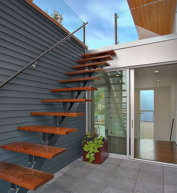 Short Stairs Ideas: Suspended Style: 32 Floating Staircase Ideas For The