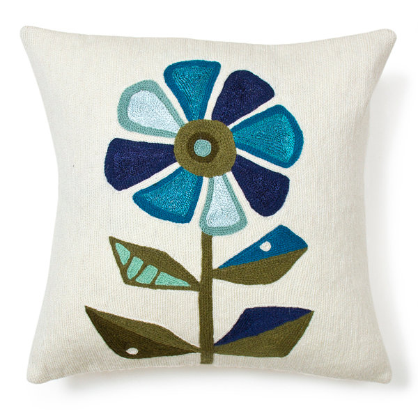 Floral pillow from Jonathan Adler