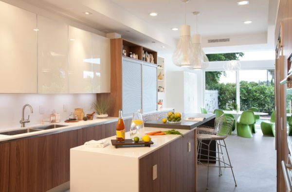 ... Frameless Painted Glass Front Cabinets Offer A Glossy Look Part 84