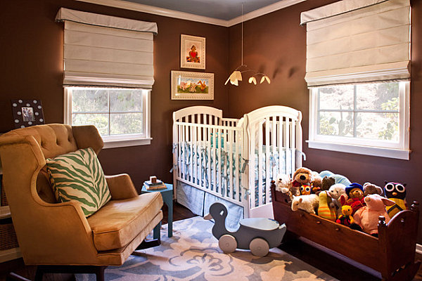 Furniture options for a small nursery