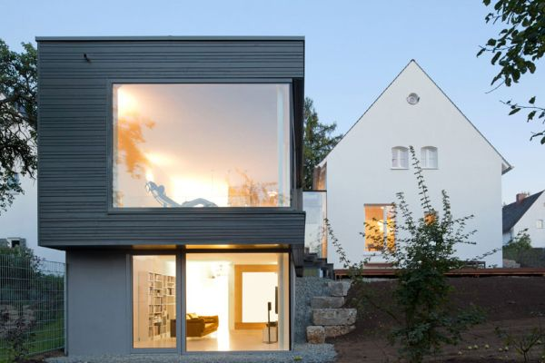Gorgeous Zwischen Raum Residence in Germany Traditional German Home Acquires A Sparkling Modern Extension