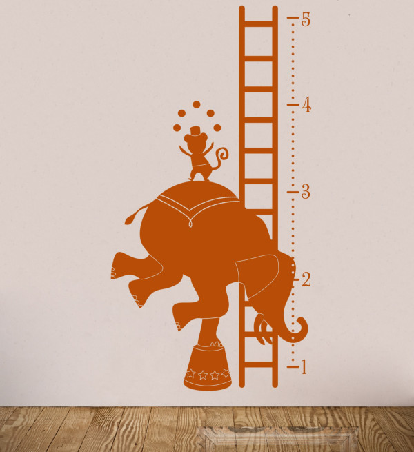 Elephant Growth Chart via buymodernbaby
