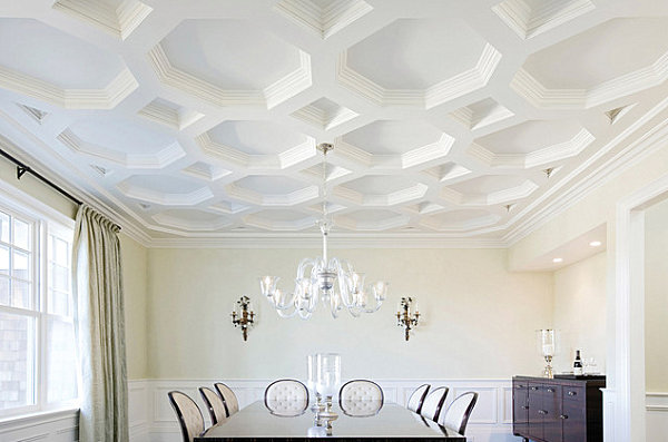 Honeycomb ceiling wall and flooring Design Trend Spotlight: The Honeycomb Pattern