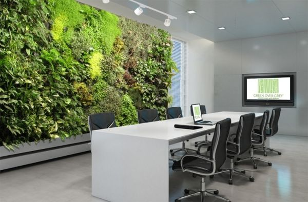Invite the living wall into your office space as well