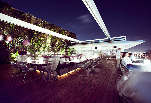 Juvia Penthouse Restaurant in Miami