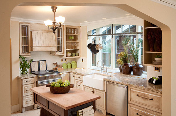 Kitchen decorating tips that make the most of your space for Large kitchen window