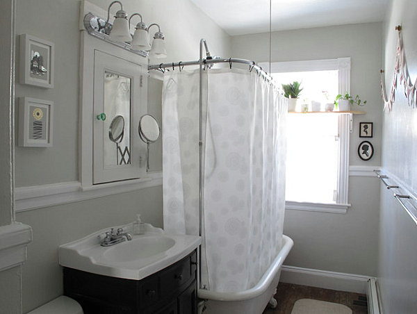 Bathroom Ledge Decorating Ideas how to decorate a small bathroom