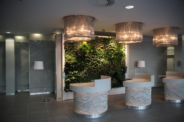 Live Panel interior living wall perfect for contemporary interiors