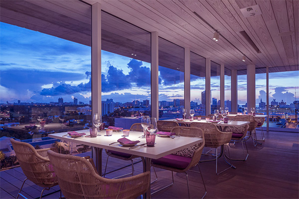 Juvia Penthouse Restaurant Promises Dazzling Views of Miami And Delectable Cuisine