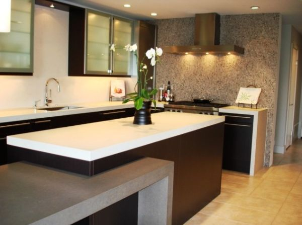 Kitchen Wall Cabinets Design : Kitchen cabinet ideas with glass doors for a sparkling