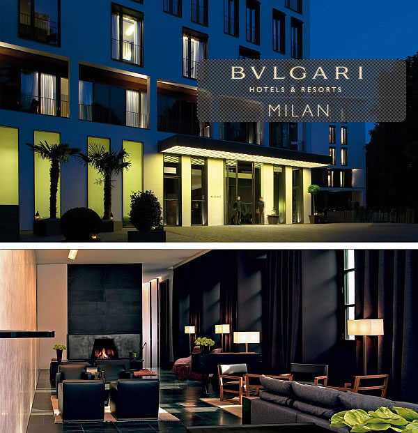 Luxury Bulgari Hotel Milano