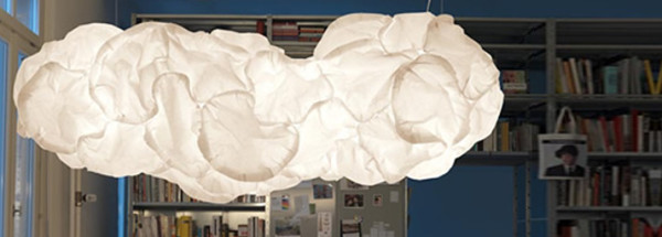 Mamacloud Pendent Lamp in Library via Die Einrichter