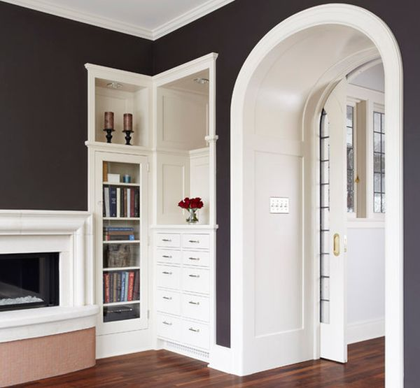 View In Gallery Maximize The Avilable Space By Using Lonely Corner To Sport A Bookshelf