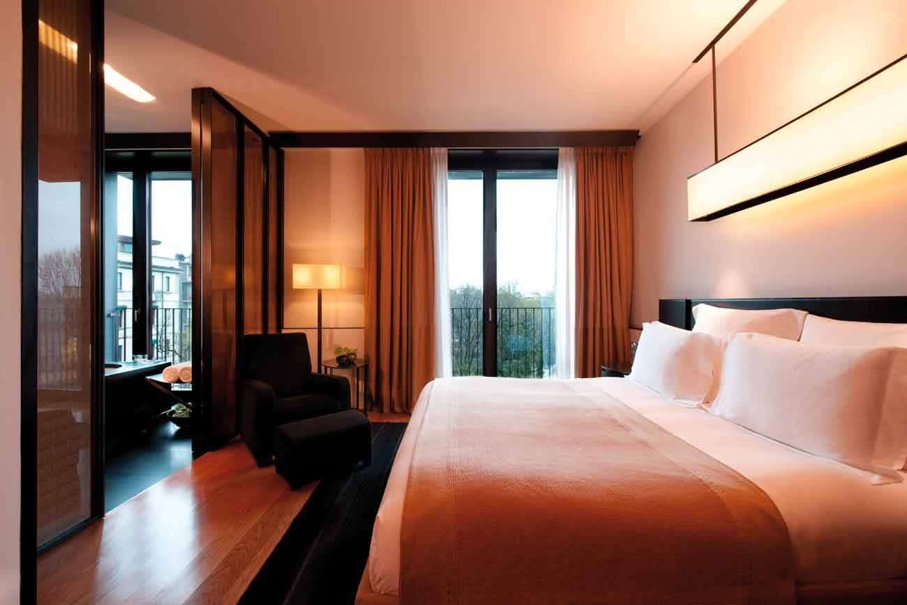 Milano deluxe rooms