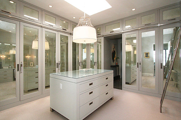 Superbe Modern Spaces With Mirrored Closet Doors