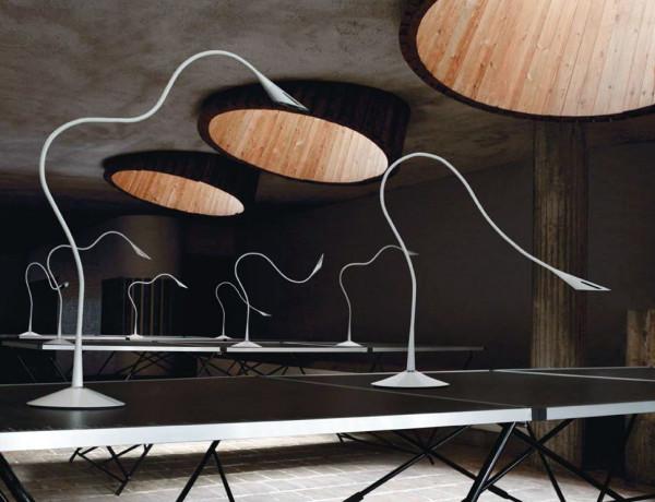 Nosy T Table Lamp Is Versatile