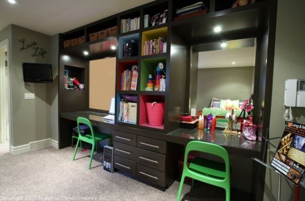 29 kids desk design ideas for a contemporary and colorful study