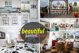 20 Painted Floors with Modern Style