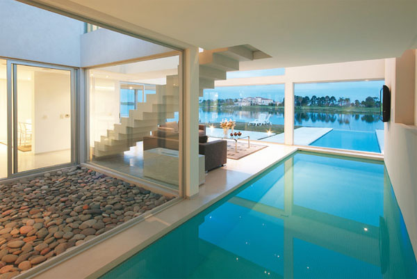 View In Gallery Pebbles And Small Stones For A Natural Interior Design 2