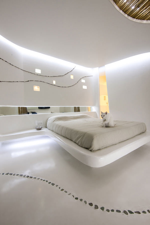Stunning Visual Appeal Natural Stone Pebbles In Interior