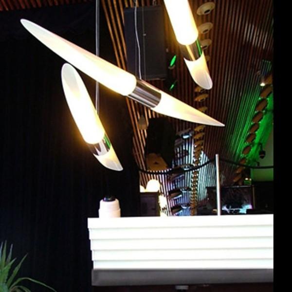 Shakti Sky Suspension Lamp in White 02