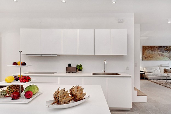 Sleek cabinets for the contemporary kitchen