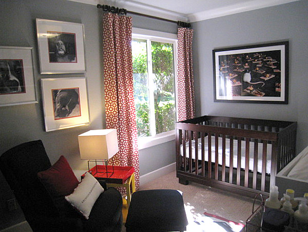 Small contemporary nursery